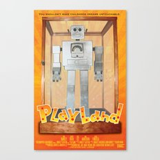 Playland Official Movie Poster Canvas Print