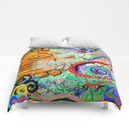 Taino Echoes - Puerto Rico Tribal Ethnic Art Comforters