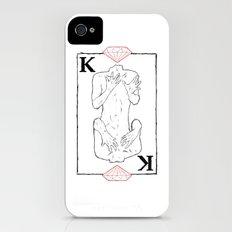 King of Diamonds Slim Case iPhone (4, 4s)