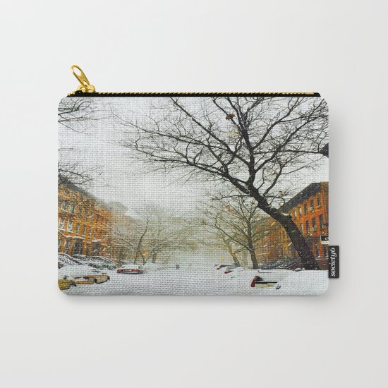 NYC @ Snow Time Carry-All Pouch