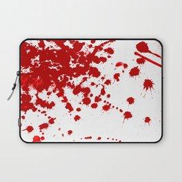 Red Splatter Laptop Sleeve
