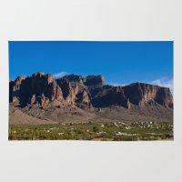 arizona Area & Throw Rugs featuring Arizona by Katie Villarreal
