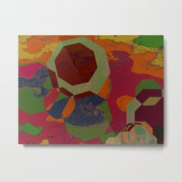 FIGURAL #COLORFUL Metal Print