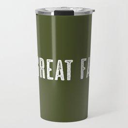 Deer: Great Falls, Montana Travel Mug