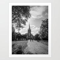 Kensington Park  Art Print