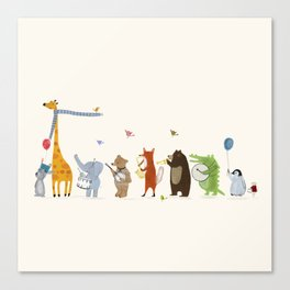 little parade Canvas Print
