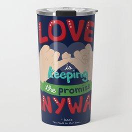 Love is... Travel Mug