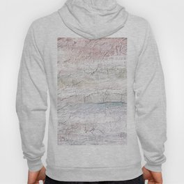 Soft Pastel Texture Acrylic Abstract Hoody