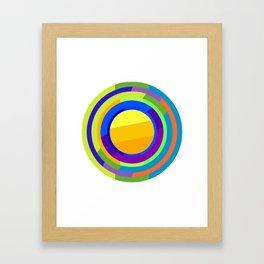 Circles of Swing (3) Framed Art Print