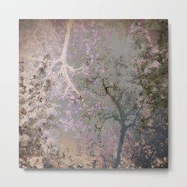 Lilac Trees Metal Print