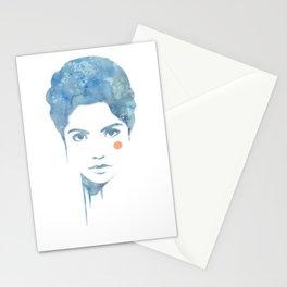 Blue & Orange Stationery Cards