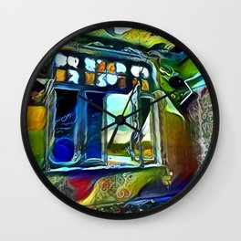 Let Love In Wall Clock