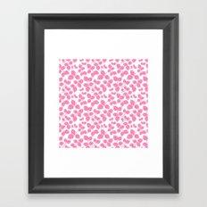 Modern Pinecone Framed Art Print