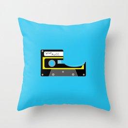 cassette tape Throw Pillow