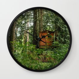 Treehouse Home Wall Clock