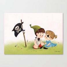 Two Little Pirates Canvas Print