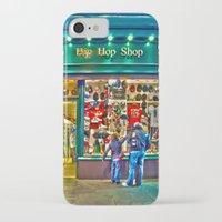 hip hop iPhone & iPod Cases featuring Hip Hop Dance Shop by Valerie Paterson