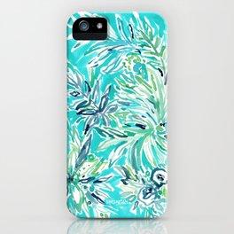 KAILUA CHILL Tropical Hawaiian Floral iPhone Case