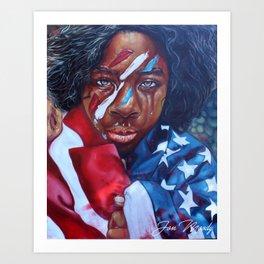Dear America II Art Print
