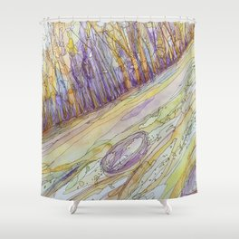 Eno River 24 Shower Curtain