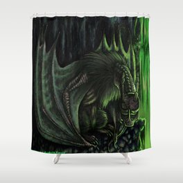 The Hybrid Wings Shower Curtain