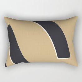 Bold abstract nude Rectangular Pillow