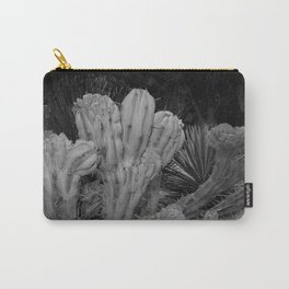 Cactus - BW Photography Carry-All Pouch