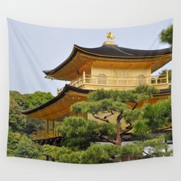 Temple of the Golden Pavillion Wall Tapestry