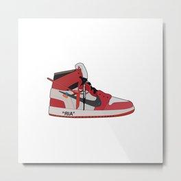 Jordan 1 - OFFWHITE Metal Print
