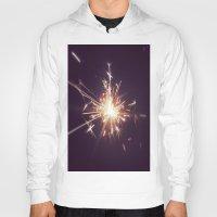 fireworks Hoodies featuring Fireworks by Machiine