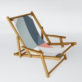 Modern Geometric 12 Sling Chair