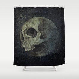 Wrong Half Of The Moon Shower Curtain