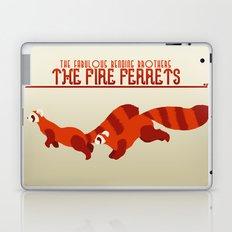 The Fire Ferrets Laptop & iPad Skin