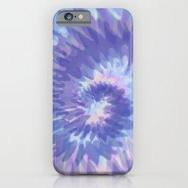 Indigo Tie Dye iPhone Case