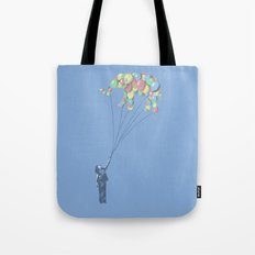 Elephants Can Fly Tote Bag