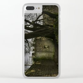 Castles in my Mind Clear iPhone Case