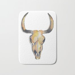 Cow Skull Bath Mat