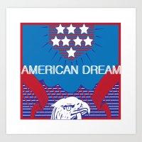 American Dream Art Print