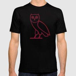 Classic Owl - Wine T-shirt