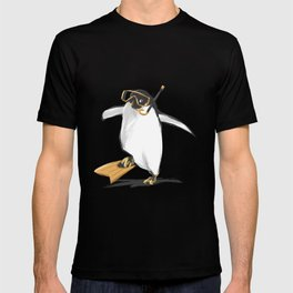 Penguin Is Ready To Dive T-shirt
