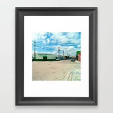 STREETART SILL LIFE - MIAMI by Jay Hops Framed Art Print