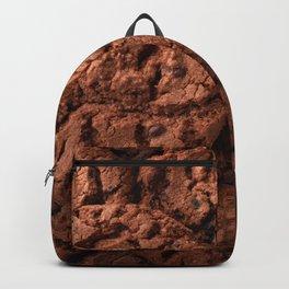 Group of dark chocolate cookies Backpack