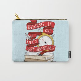 Reading is One of Life's Best Adventures Carry-All Pouch