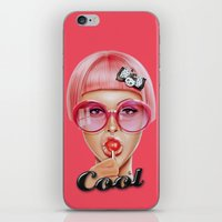 ariana grande iPhone & iPod Skins featuring Cool Redux by Giulio Rossi