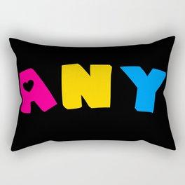 Any (Pansexual) Rectangular Pillow