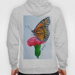 Butterfly Farfalla Drawing Pencil Hoody