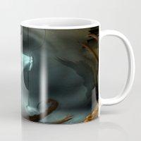 nemo Mugs featuring Captain Nemo by IOSQ
