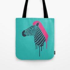 Zebra's Not Dead II Tote Bag
