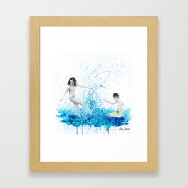 Happiness Together Framed Art Print