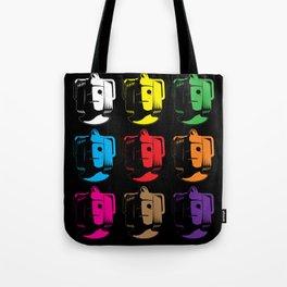 Cyberman Pop Art Tote Bag